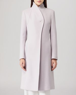 Reiss Coat - Emile Dna High Collar
