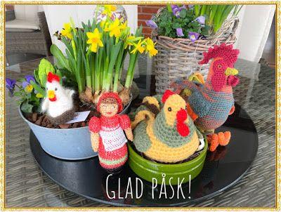 Christels handarbete: Glad Påsk! Happy Easter