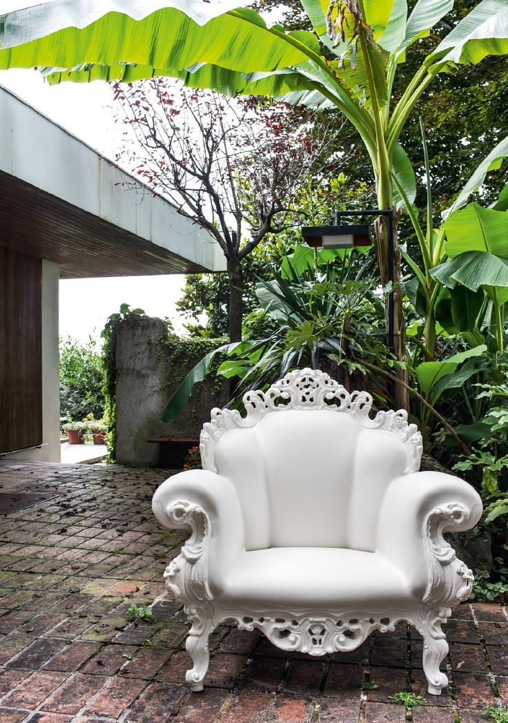 Magis Proust | Magis This is a wonderful chair for the outdoors,  I would add a cushion.