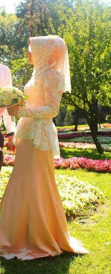#color #peach #hijabi #hijab