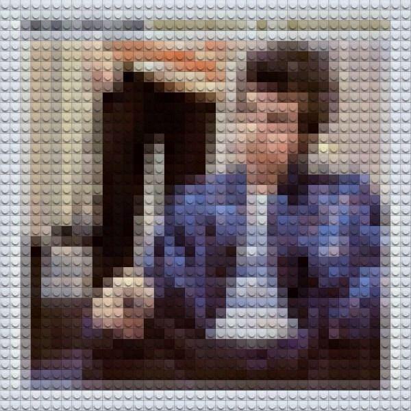 Lego albums. Bob Dylan - Highway 61 Revisited.