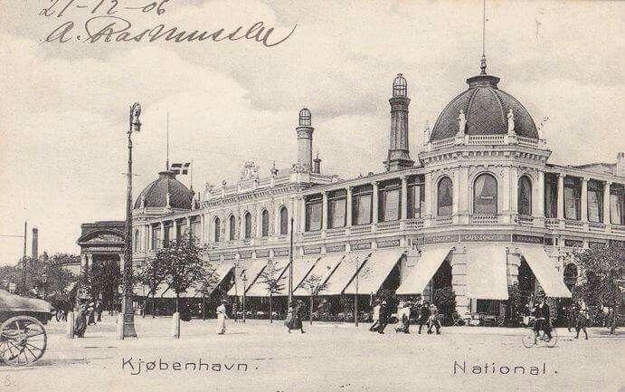 National Scala 1906 - Oprindelig Etablissement Scala på Vesterbrogade - 1882-1957
