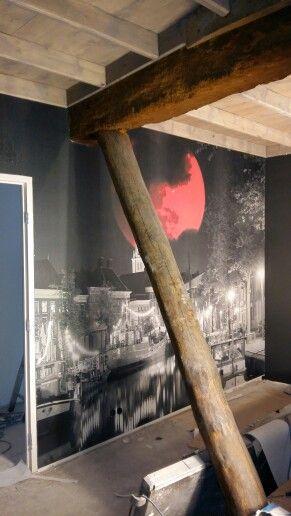 Foto wand Noorderhaven GRONINGEN. Artyx interieurprodukties