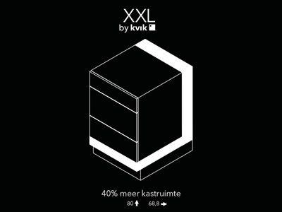 Kasten | Tot 40% meer ruimte met kasten van Kvik