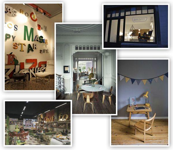 Retro meubilair en vintage design zijn weer helemaal eigentijds. De leukste vintage shops in Brussel: