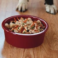 Thank Your Dog Casserole, Pet Recipe | http://www.rachaelraymag.com/Recipes/rachael-ray-magazine-recipe-search/pet-friendly-dog-recipes/thank-your-dog-casserole