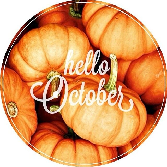 Hello October! #fall #autumn #pumpkins #leaves