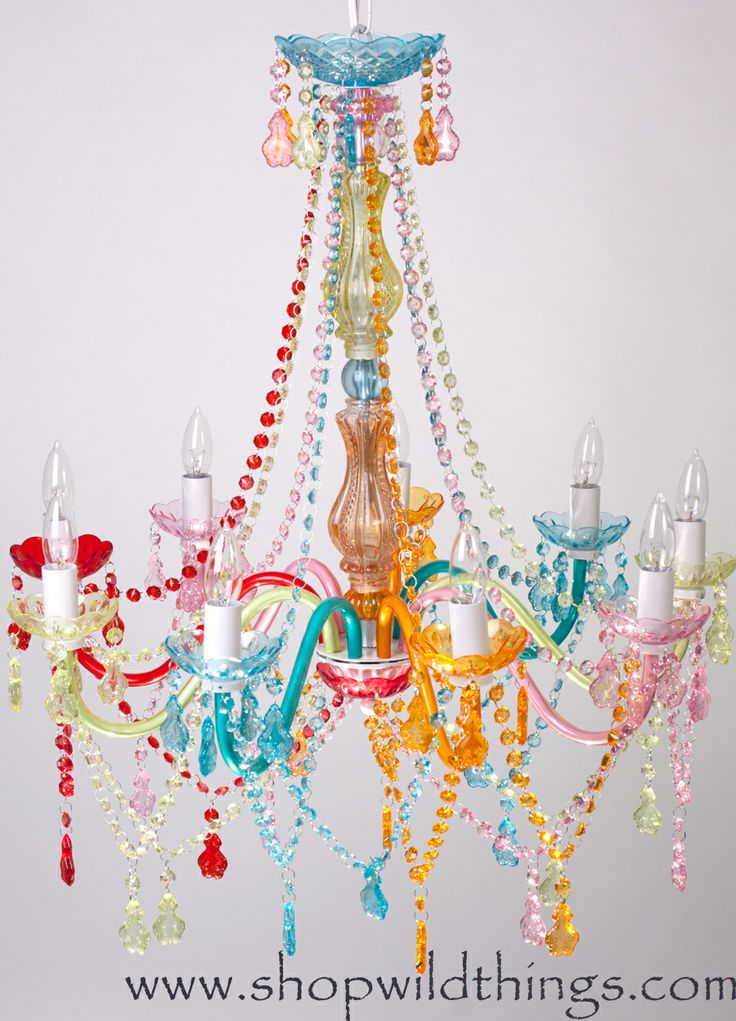 Chandelier The Gypsy Colorful 9 Lights X