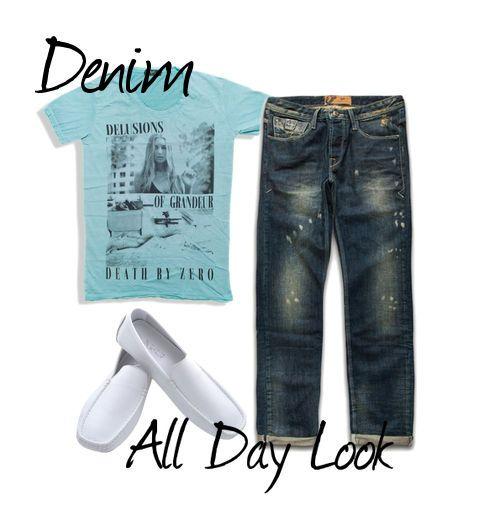 Denim All Day Look #Millenniumshop