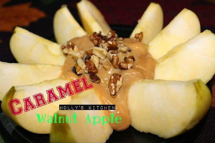 Caramel Walnut Apple