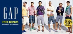 Gap Sale at Top Buy - Up to 50% Discount Tees and Shirts Starting at $19.95!