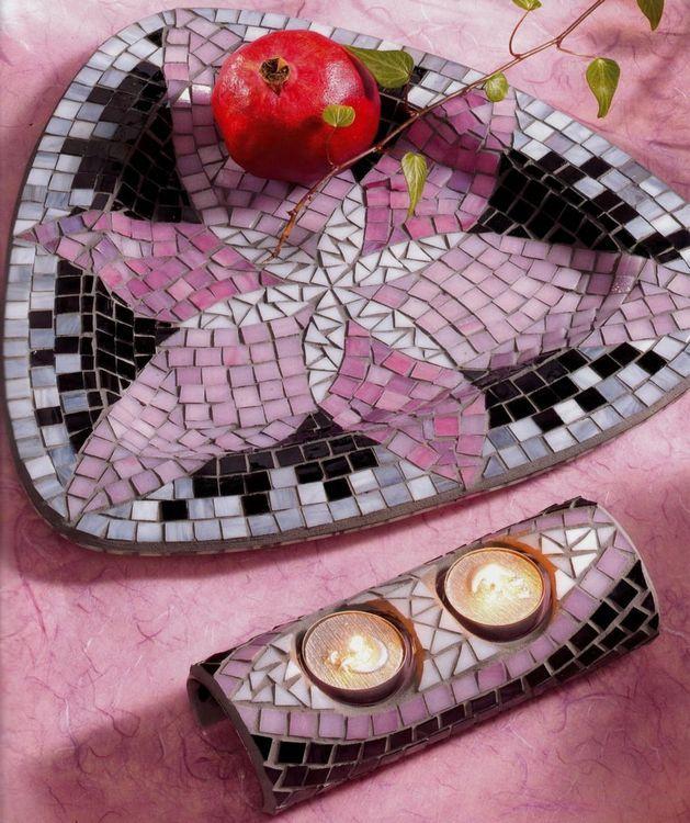 Mozaicuri - Vis trandafiriu