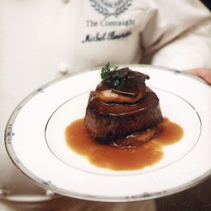 """Perfect """"boeuf"""" dish! (Beef Filets with Foie Gras and Truffles Recipe - Saveur.com) #saveur, #dinnerparty"""