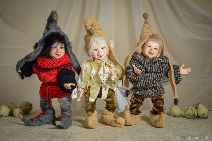 Little boy BJD dolls - Custom made one of a kind art porcelain dolls by LegendLand Dolls