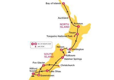 New Zealand Top Deck tour.