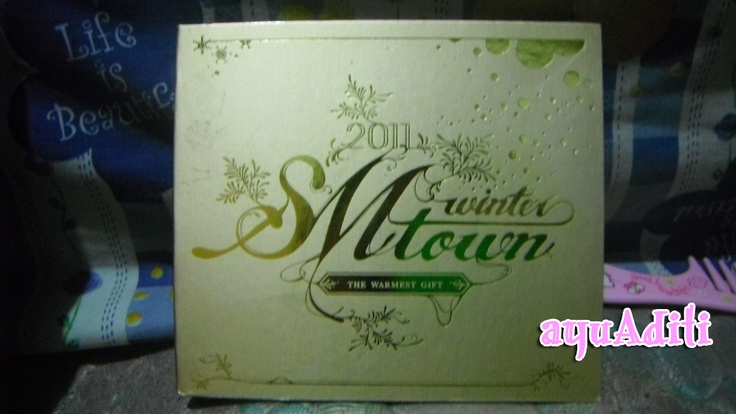 [album] SM Town Winter -GOLD- cover