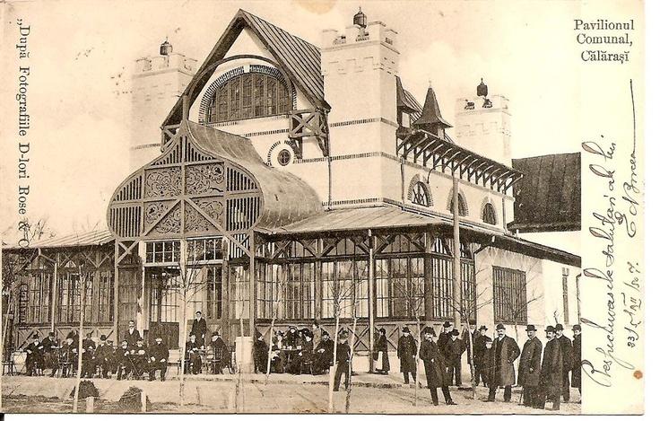 Calarasi - Pavilionul Comunal - antebelica