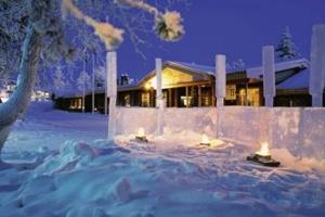 Kieppi Hotel in Saariselka #lapland #christmas