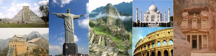 While were at it I might as well visit the 7 wonders.