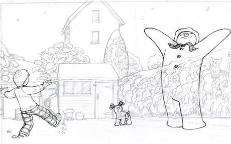 the making of the snowman and the snowdog | telegraph