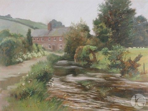 Landscape Paintings by William Garfit from The Jerram Gallery, Sherborne, Dorset.  Contemporary British pictures and sculpture