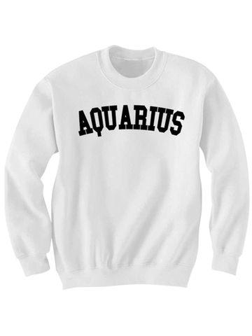 AQUARIUS SWEATSHIRT  #sweatshirt #shirt #sweater #womenclothing #menclothing #unisexclothing #clothing #tops