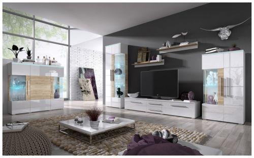 Living room vitrine