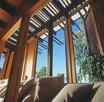 Warmth through framing views and timber