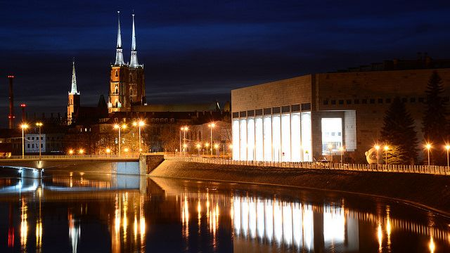 Cathedral by night