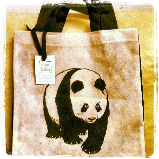 #Panda #ecobag