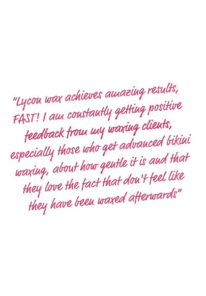 Beauty Therapist Review of Lycon Waxing