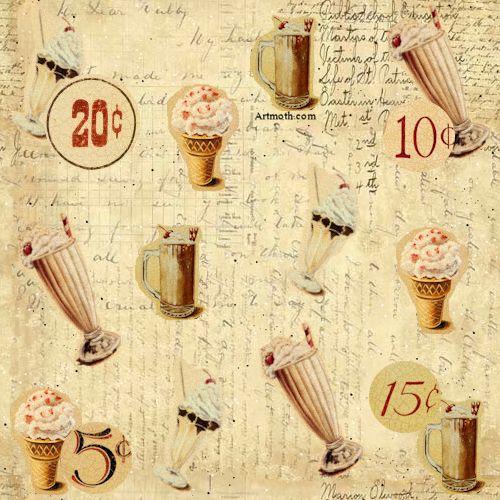 antique cream wallpaper - photo #44