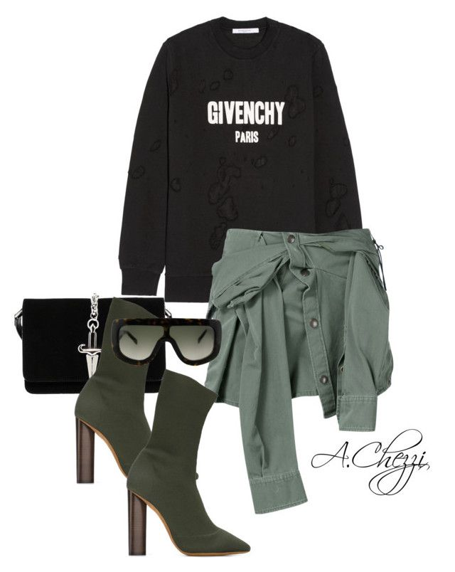"""Untitled #240"" by alyssachezzi on Polyvore featuring Givenchy, Cesare Paciotti, Faith Connexion, adidas Originals and CÉLINE"