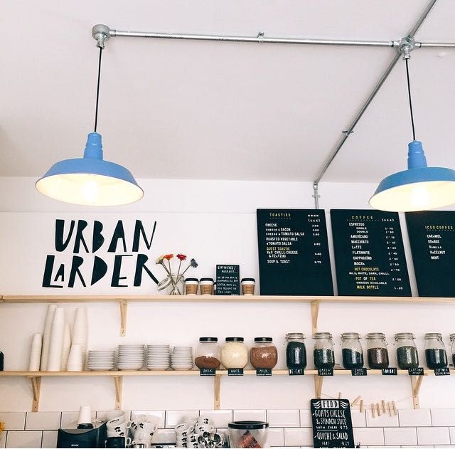 Urban Larder Counter lights