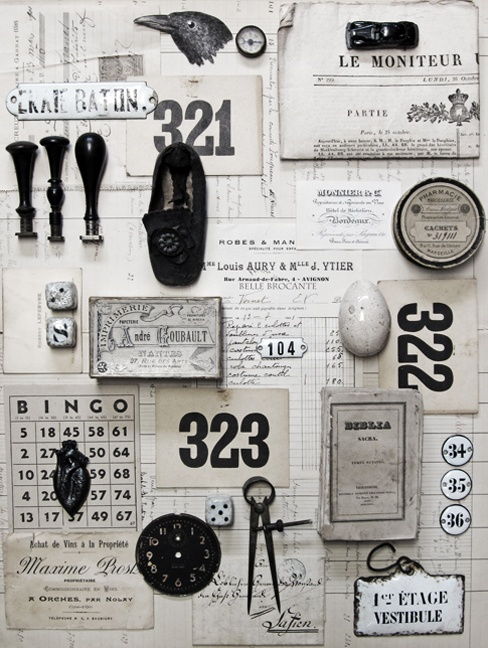 Black & White Object Collection