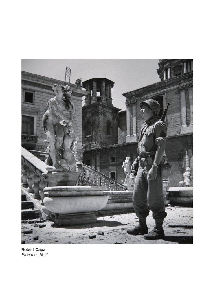 #cartacanta #RobertCapa #Palermo 1944 #mostra GLI SCATTI DELLA #STORIA #snapshots from #history http://bit.ly/1rE8Xhy