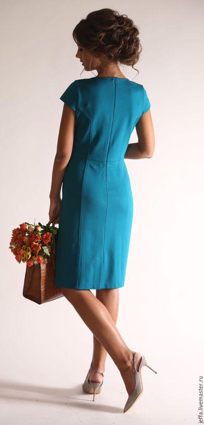 Платья ручной работы. Платье из джерси арт.5365. Оксана. Ярмарка Мастеров. Дизайнерское платье, модная одежда