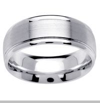 Platinum Rings for Men & Mens Platinum Wedding Bands  Platinum wedding rings set the standard in elegance and quality among traditional wedding rings. Platinum wedding band styles crafted in high quality platinum 950 are made from the most valuable precious metal in the world. $1,070