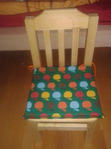 Kissenbezug aus Baumwollstoff für Kinderstuhl