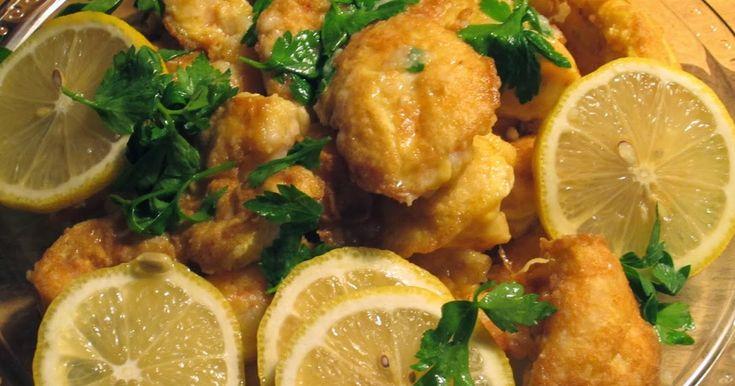 THE FOOD OF LOVE: Shrimp Francese