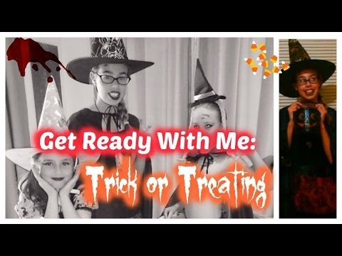 Get Ready With Me: Trick or Treating | Raine maker - YouTube