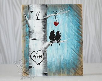 You and Me Sign Wood Sign Reclaimed Wood Art 5th Anniversary