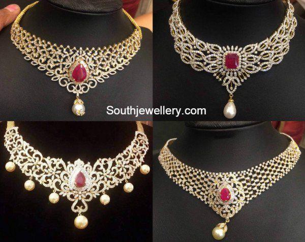 Beautiful Diamond Necklaces photo