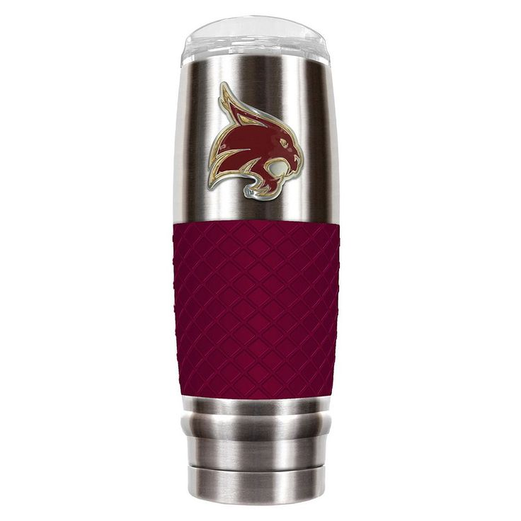Texas State Bobcats 30-Ounce Reserve Stainless Steel Tumbler, Multicolor