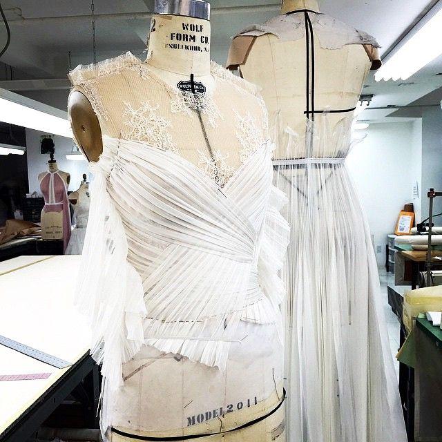 Instagram media by j_mendel - A peak into the new J. Mendel Bridal Collection