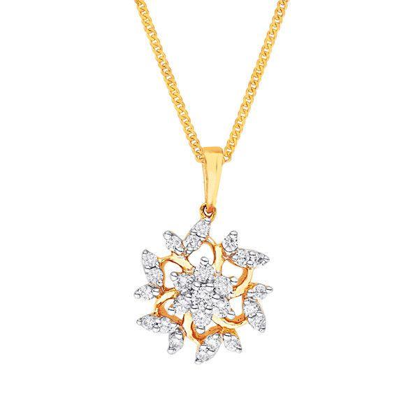 Katrina's Favourite - Nakshatra Diamond Pendant PP14307SI-GH-K