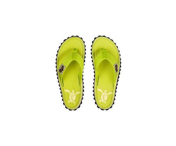 Gumbies Teenslippers Flip Flop Lime Turtle