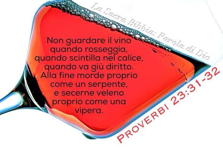 Proverbi 23:31-32