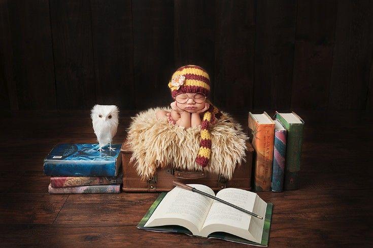 Newborn - Shannon Leigh Studios - Harry Potter