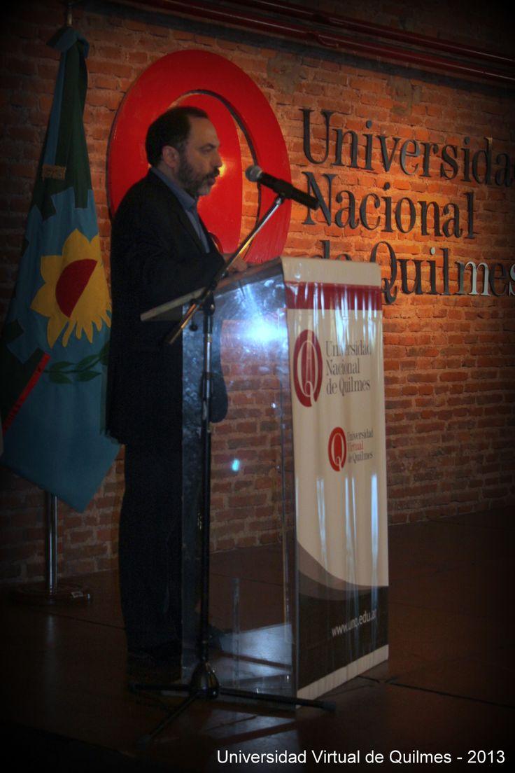 Dr. Germán Dabat, Secretario de Educación Virtual